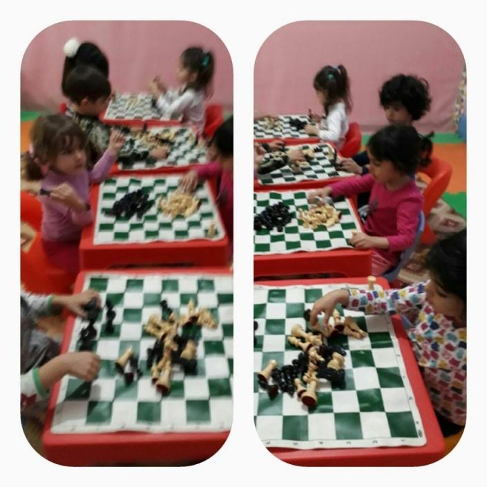 آموزش شطرنج در مهد کودک