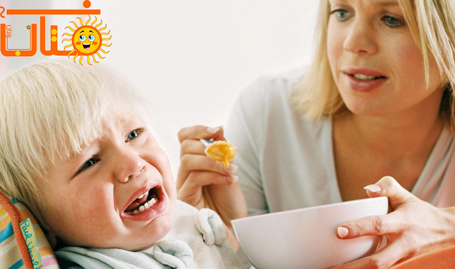 به کودکان به اجبار غذا ندهید