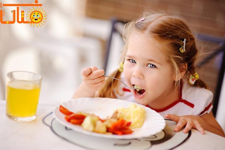 درمان بد غذایی کودکان